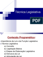 Tecnica Legislativa 3