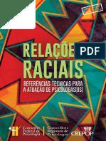 Relações Raciais RT Para a Atuação de Psicólogasos