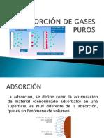 Adsorcion de Gases y Líquidos