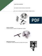 Herramienta y Accesorios para manufactura