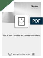 Manual Lavarropas Whirpool