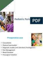 Pediatric Perioperative