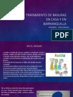Tratamiento de Basuras en Casa y en Barranquilla