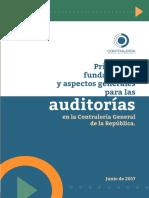 Principios, Fundamentos y Aspectos Generales Para Las Auditorías en La Contraloría General de La República