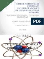 Estructura Atomica y Propiedades de Los Metales