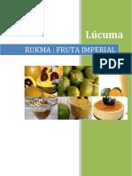 Lucuma Fruta Imperial
