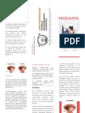 prostatitis y dolor en el testamento