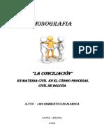 MONOGRAFIA Por L.humberto Cusi
