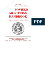 US Army Manual - TM 31-210 - Improvised Munitions Handbook