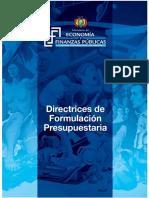 2017.04.07 Directrices de Formulación Presupuestar a 2017