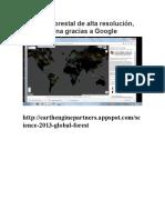 Un Mapa Forestal de Alta Resolución