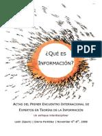 Quc3a9 Es Informacic3b3n