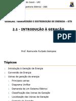 IIGeracao I - Gerador 2017