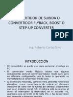 Convertidor de Subida o Convertidor Flyback Boost