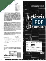 Tércio Sampaio Ferraz Jr - Dificuldades Preliminares Na Conceituação de Ciência Do Direito