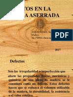 TEMA 13 Defectos en La Madera Aserrada