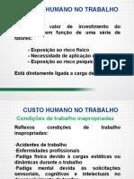Carga de trabalho e custo humano atividade, tarefa e condições de trabalho - Parte I.pdf