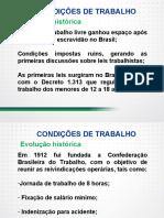 Condições e organização do trabalho trabalho prescrito, ambiente físico, processos de trabalho e relações sócio- profissionais - Parte I.pdf