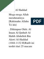 Ratib Al Haddad Best Word