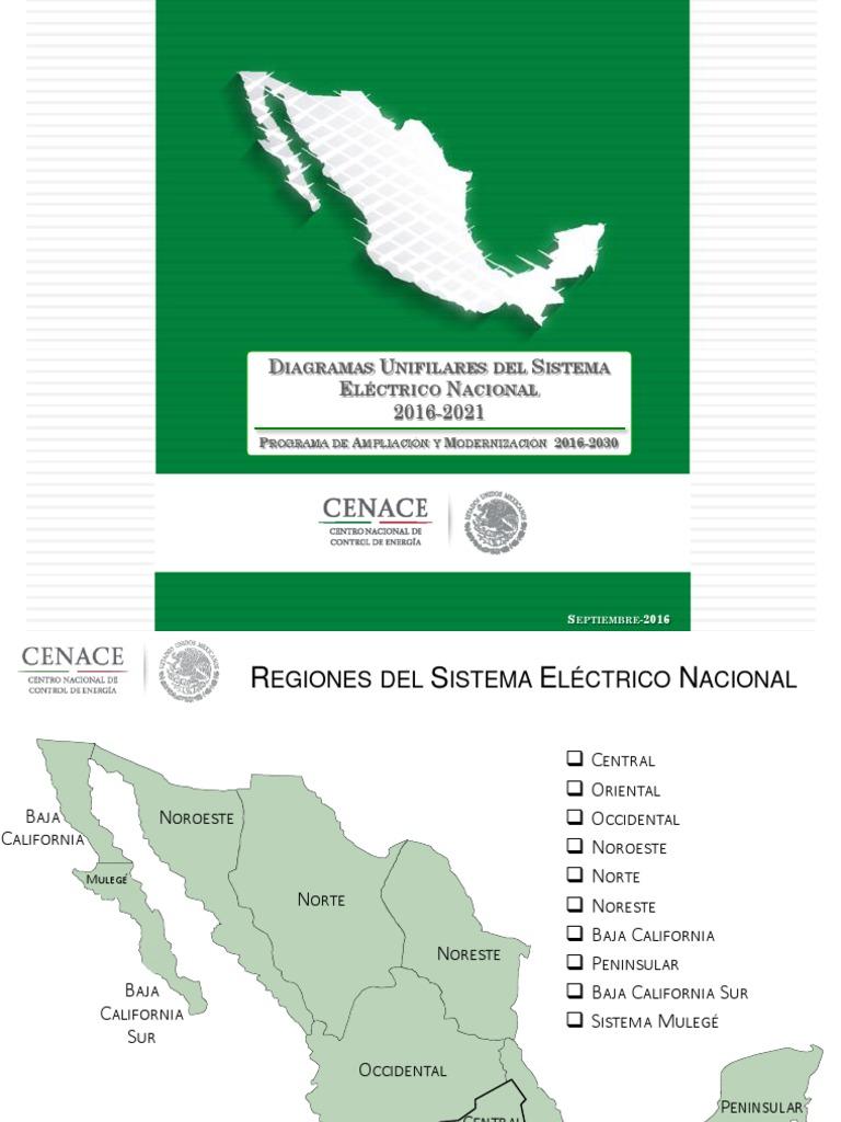 Mod Gral Planeaci N 2016 2021 Diagramas Unifilares Rnt Y Rgd Del  # Cota Muebles Teziutlan Puebla