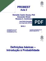 Aula 2 - Probabilidade e Estatística (Reinaldo Souza)