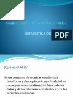 Análisis Exploratorio de Datos (AED)