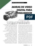 Cámaras de Video Digital Para Consumidor