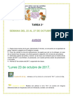 Tareas Del 23 Al 26 de Tercero. Abcd 2017. 1