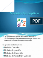 Medidas Descriptivas