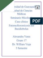 Alexandra Varas Entomoftoromicosis