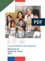 Cuenta Publica MDS 2017