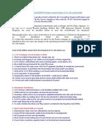 11kV Checklist