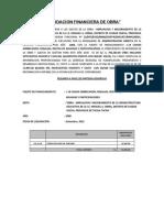 15. Liquidacion Financiera de Obra