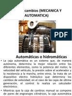 Cajas Automaticas
