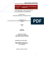 DERECHO PROCESAL CONSITUCIONAL ACT N° 2