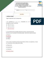 Examen Español Resuelto