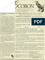 December 2004 Ecobon Newsletter Hilton Head Island Audubon Society