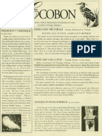February 2005 Ecobon Newsletter Hilton Head Island Audubon Society