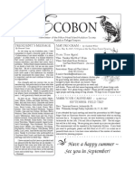 May 2007 Ecobon Newsletter Hilton Head Island Audubon Society