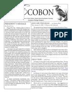 January 2008 Ecobon Newsletter Hilton Head Island Audubon Society