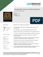 Mercadotecnia de Contenido Epico Pulizzi Es 22297