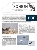 March 2008 Ecobon Newsletter Hilton Head Island Audubon Society