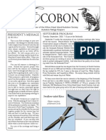 September 2008 Ecobon Newsletter Hilton Head Island Audubon Society