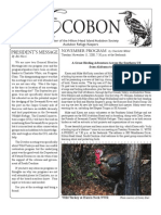 November 2008 Ecobon Newsletter Hilton Head Island Audubon Society