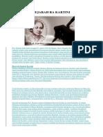 Sejarah Ra Kartini