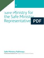 Pathways-Safe Ministry Representative
