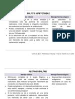 Tratamiento Patologías Pulpares y Periapicales