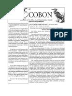 November 2009 Ecobon Newsletter Hilton Head Island Audubon Society