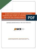 Modelo de Base para proceso del estado peruano adjudicacion simplificada