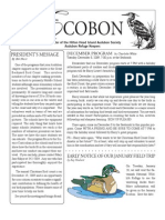 December 2009 Ecobon Newsletter Hilton Head Island Audubon Society